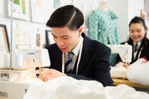 江東服飾高等専修学校 - 服飾学科・授業内容 - 服飾造形