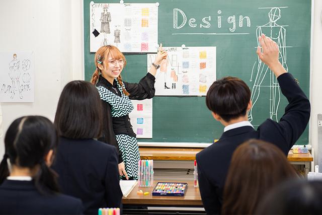 江東服飾高等専修学校 - 服飾学科・授業内容 - ファッション画